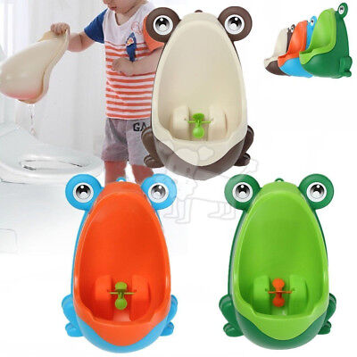 Kids Baby Toddler Boy Frog Potty Urinal Pee Toilet Travel Home Training Yy