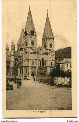 CPA-Carte postale-  Belgique - Spa - L'Eglise (CP1722)