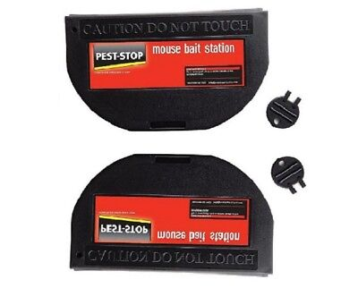 Pest-Stop Systems PSMBS Mouse Bait Stations Pack of 2