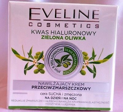 Eveline Cosmetics Green Olive Day/ Night Anti-wrinkle Anti- Age Face cream