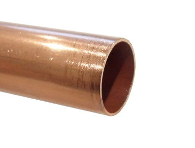 15mm Copper Pipe / Tube   100mm - 500mm Lengths Available