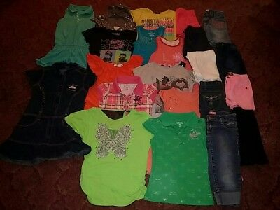 Great deal! 22pc girls 7-8 summer lot. BH Polo, Southpole, 2B Real