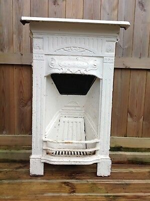 Victorian Edwardian Cast Iron Fireplace