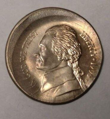 1996 massive broadstruck Jefferson nickel 558