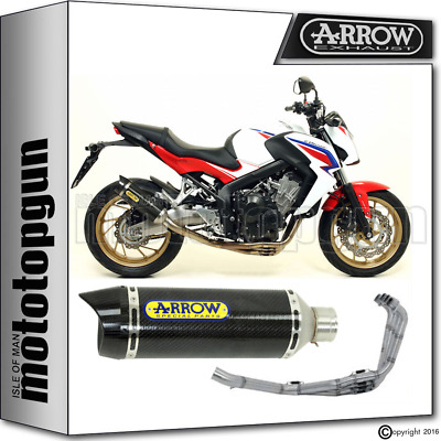 Arrow Full System Exhaust Thunder Carbon Carby Honda Cb 650 F 2014 14 2015 15