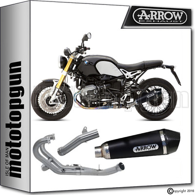 Arrow Full System Exhaust X-Kone Black Carby For Racing Use Bmw R Nine T 2014 14
