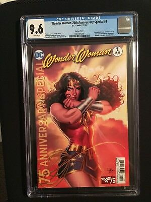 Wonder Woman 75Th Anniversary Special #1 Cgc 9.6 Scott Cover