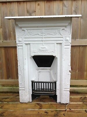 Three Matching Victorian Edwardian Fireplaces