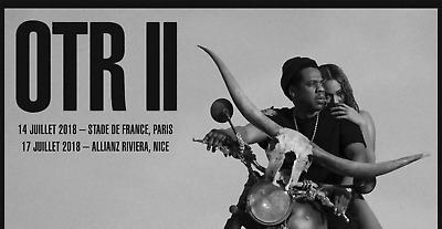 Official Tickets JAY-Z AND BEYONCÉ - 14/07/18 Stade de France