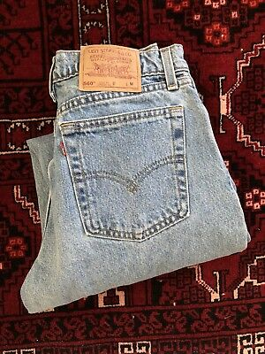 Vintage LEVIS Jeans 30x31 High Waist Jeans 560 USA Loose Straight Stonewashed