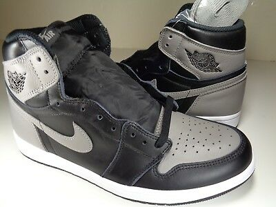 NIKE AIR JORDAN Retro 1 High OG BIRMINGHAM BARONS WHITE BLACK GREY ... a3fdbcc3e
