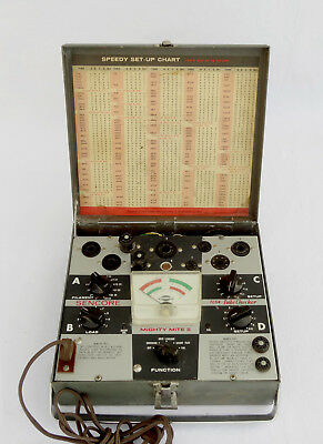 SENCORE MIGHTY MIGHT II TC114 Tube Tester - Good Working Cond. - 30 Day Warranty