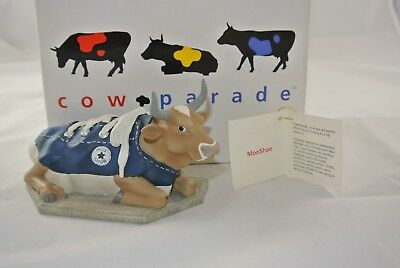 "Cow Parade "" MooShoe "" Numbered 1/1739,   #9125 w/tag and box"