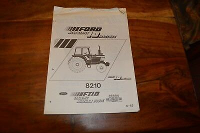 Ford 8210 series Tractors Introduction Notes for Technicians  (5)