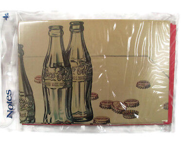 Coca-Cola  Red Cards with Bottle 8 cards and envelopes- BRAND NEW