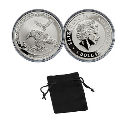 2018 Australia Wedged-Tailed Eagle 1 oz .9999 Silver Coin