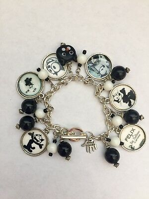 New Felix The Cat Bracelet Charm Bracelet