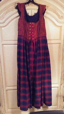 Renaissance faire overskirt with attached bodice only XL. No underskirt