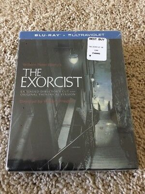 THE EXORCIST, THE VERSION YOU'VE NEVER SEEN, BLU-RAY 40th ANNIVERSARY, SEALED!!