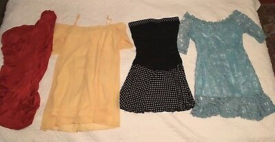 Lot Of 12 Dresses Short Summer Small New And Gently Worn