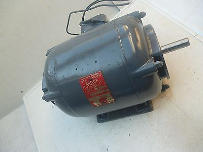 Electric Motor >  professionally REFURBISHED 3 ph 2HP >  was on Union Grinder