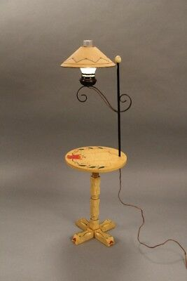 Monterey Period Lamp With Original shade (11065)