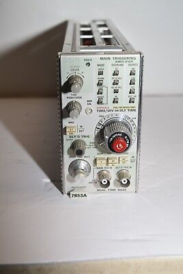 Tektronix 7B53A  Dual Time Base Plug-In from working oscilloscope model 7834