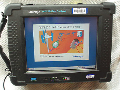 Tektronix NetTek Y400+YBA250 Return Loss +YBT250 Spectrum Analyzer