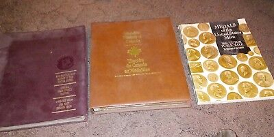 Medals of the US Mint,Dept of Treasury  Medallic History of Canada  & US Albums