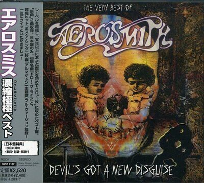 Aerosmith THE VERY BEST OF Aerosmith Album Music CDs Japan F/S