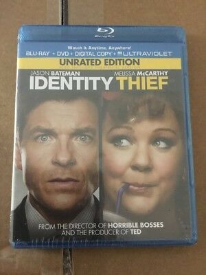 Identity Thief (Blu-ray/DVD) Unrated Edition FACTORY SEALED