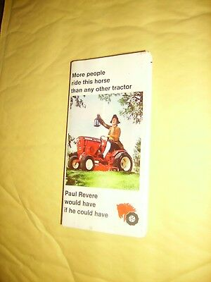 Wheel Horse Garden And Lawn Tractor Advertising