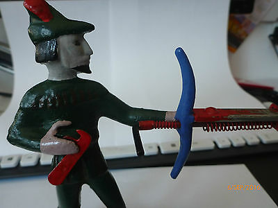 Antique Metal Robin Hood Toy Bowe and Arrow