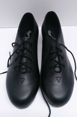 Bloch Dance Now Adult's Black Lace Up Jazz Tap Shoes size 6