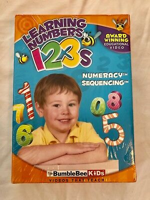 Baby BUMBLEBEE learning Numbers Numeracy 2 volume set DVDs ~ Brand New sealed
