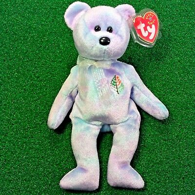 NEW Ty Beanie Baby Issy The Bear MILANO Four Seasons Hotel Exclusive 2001 - MWMT