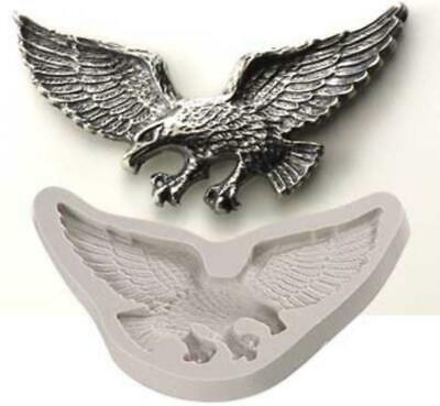 PMC Silver Clay Jewelry Mold Large Eagle Mould