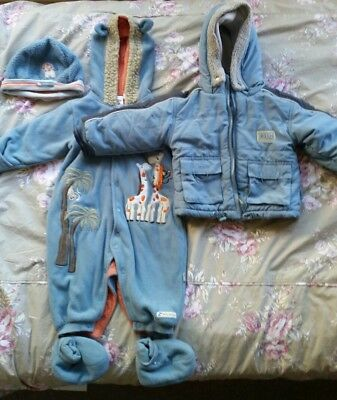 PUMPKIN PATCH Baby Boys Winter clothing           SIZE 0