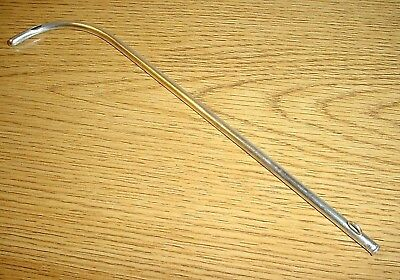Antique Shepard and Dudley Sterling Silver Catheter / Surgical Instrument