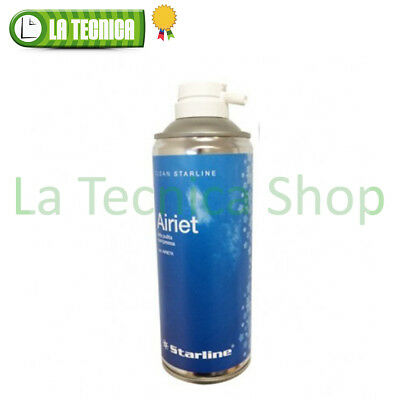 STARLINE bomboletta spray ARIA PULITA COMPRESSA con beccuccio 400ml