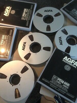 AGFA PEM 468 High Output Master Tape 24 Track