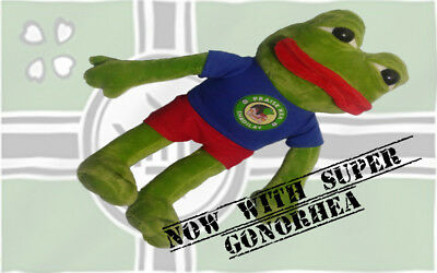 pepe frog toy singing shadilay
