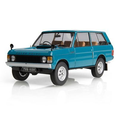Genuine Range Rover Classic 1:43 Scale Model in Tuscan Blue