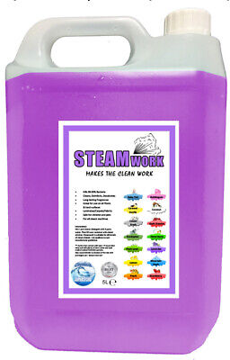 Steamwork - Steam Cleaning Detergent - Cleaner for All Machines Lavender 5L