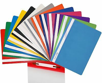 Strong Clear Cover A4 Presentation Project Files Hard PVC Document Folder