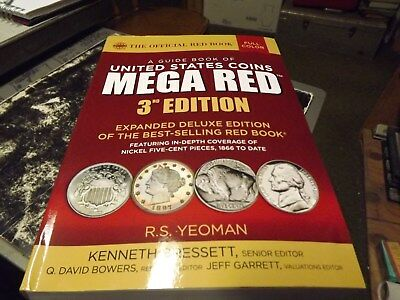 Mega Red Book 3Rd Edition 2018 Used But Great Shape No Rips Estate Sale Find