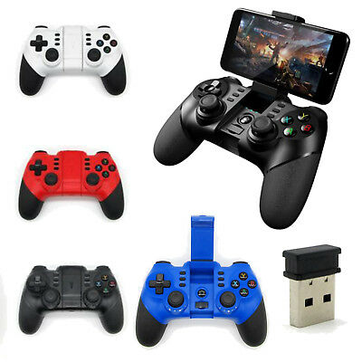 For Android iPhone Bluetooth Wireless Controller Gamepad Joystick 2.4G Receiver