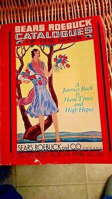 Sears Roebuck Catalogues of the 1930's Out of Print Book