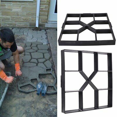40cm Paving Mold Making-Road Road-Mould Cement Brick Lawn Paver Manually