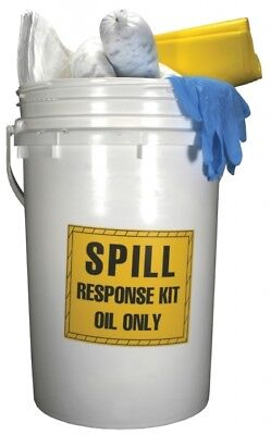 Dixon DSK5-O Oil Spill Kit - 6-1/2 Gallon Pail